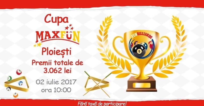 MaxFun AFI Ploiesti pool cup