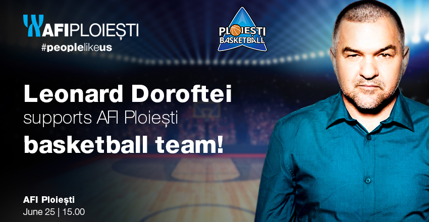 Awarding AFI Ploiesti Basketball team