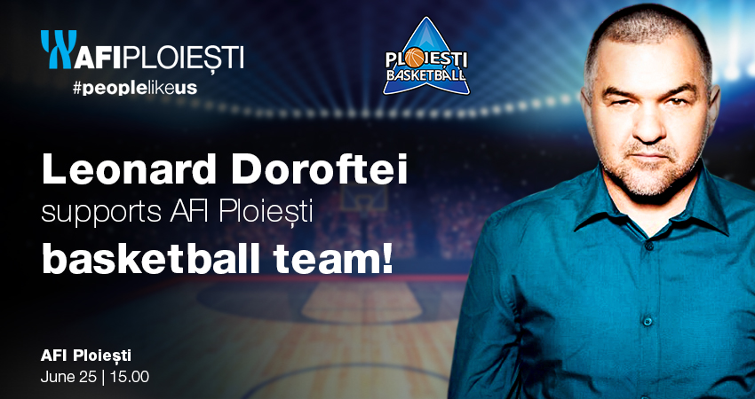 Awarding AFI Ploiesti Basketball team