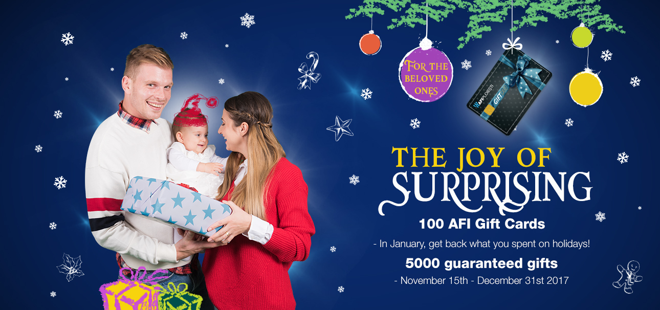 The joy of surprising