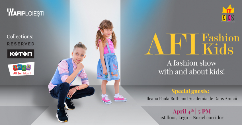 AFI Kids Fashion – an event with and about kids!