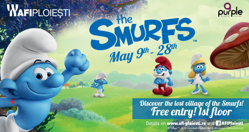 The Smurfs – Discover the lost village of the Smurfs!