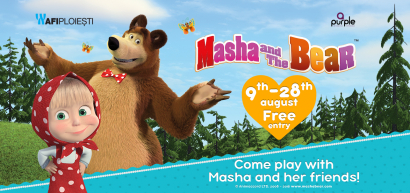 Masha and the Bear are coming to AFI Ploiesti!