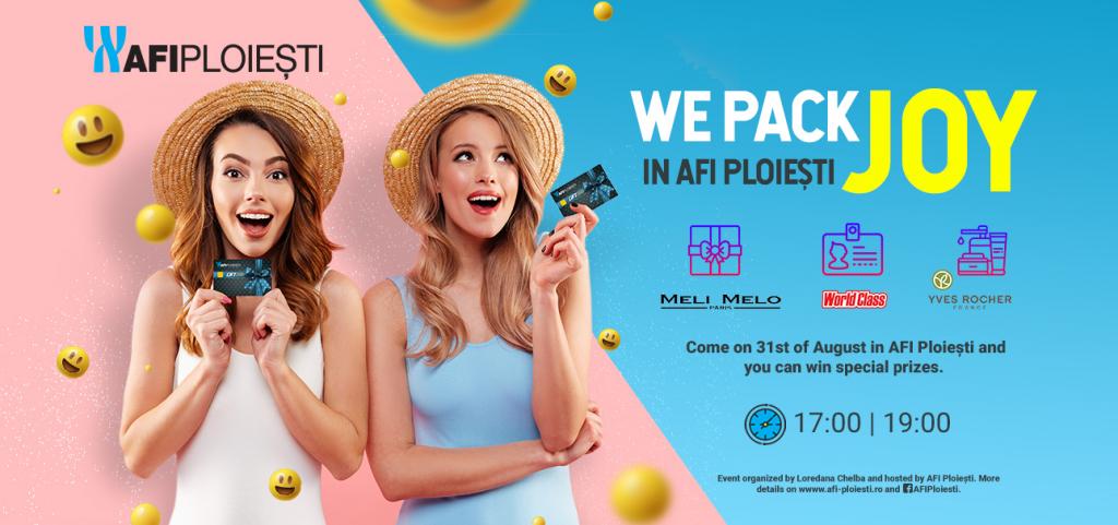We Pack Joy in AFI Ploiesti