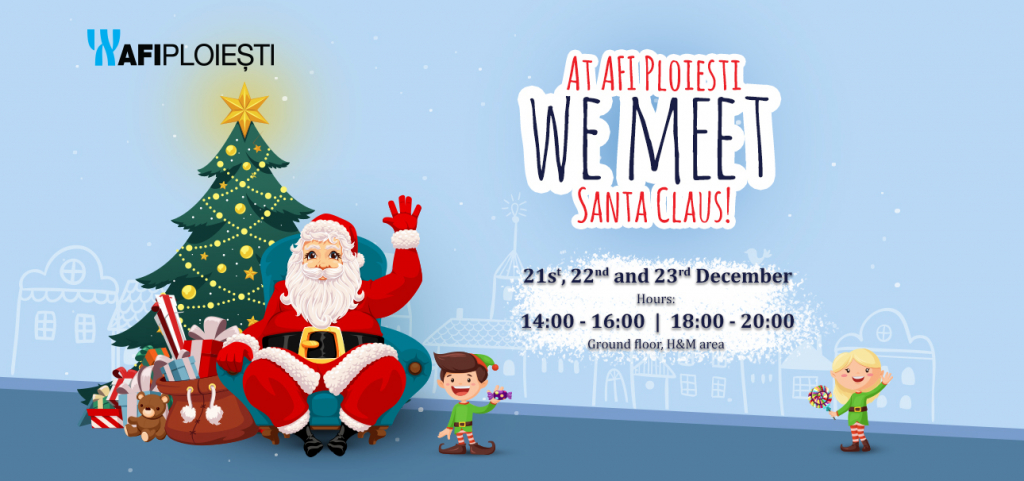 At AFI Ploiesti Santa Claus arrives earlier!