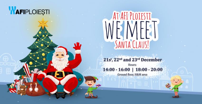 At AFI Ploiesti Santa Claus arrives earlier!