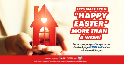 Let's make from ''Happy Easter'' more than a wish!