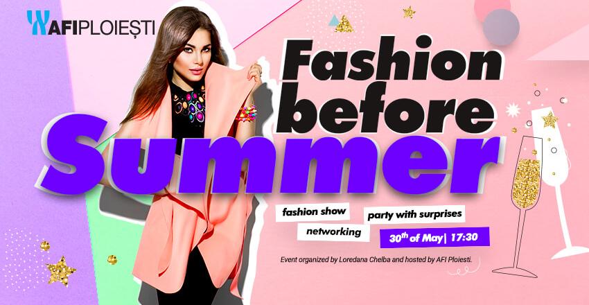 Fashion before summer