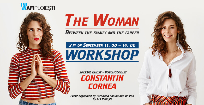 The woman between family and career!
