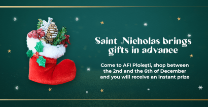 Saint Nicholas brings gifts in advance!