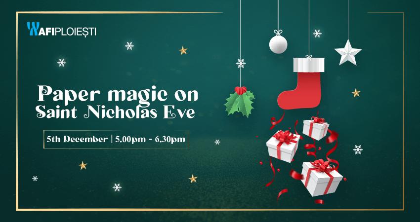 Paper magic on Saint Nicholas Eve
