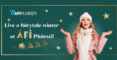 Live a fairytale winter at AFI Ploiesti!
