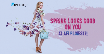 Spring looks good on you at AFI Ploiesti!