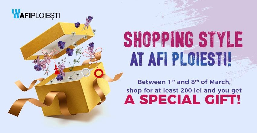 Shopping style at AFI PLOIESTI!