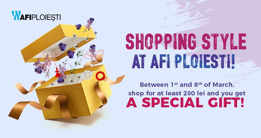 Shopping style at AFI PLOIESTI!