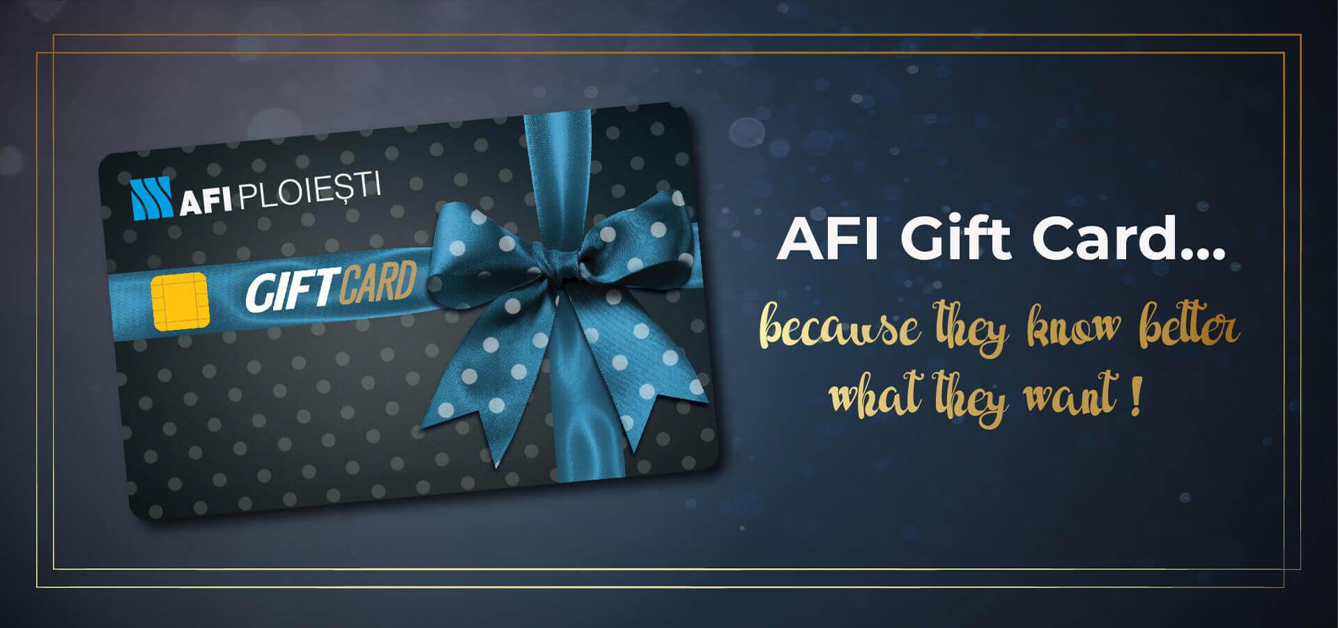 AFI Gift Card
