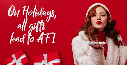 On Holydays, all the gifts lead to Afi