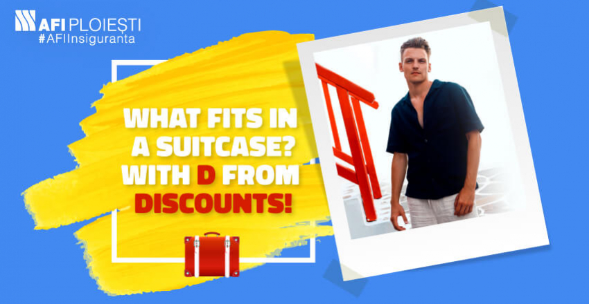 WHAT FITS IN A SUITCASE?