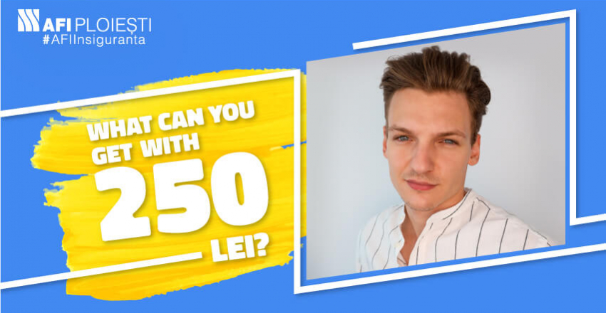 WHAT CAN YOU GET WITH 250 LEI?