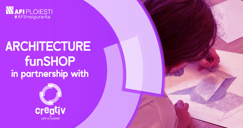 ARCHITECTURE WORKSHOP IN PARTNERSHIP WITH CREATIV BY ART ACADEMY