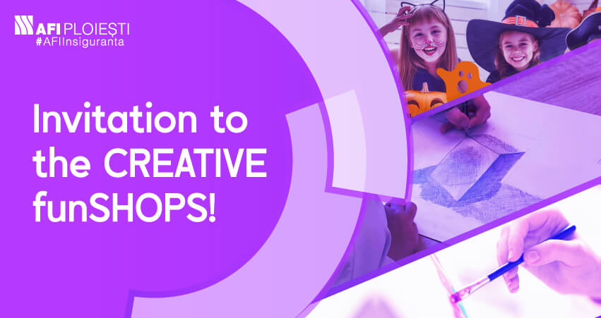 INVITATION TO THE CREATIVE FunSHOPS!