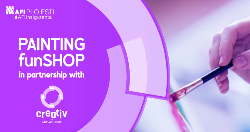 PAINTING WORKSHOP IN PARTNERSHIP WITH CREATIV BY ART ACADEMY